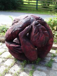 Holzbildhauerei_2006_Memorandum_Wismut_Eiche